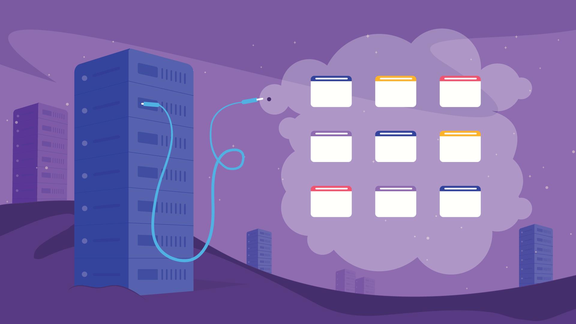 what shared web hosting - هاستینگ و ثبت دامنه